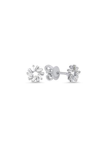 LUXO Diamond Pırlanta Küpe Beyaz